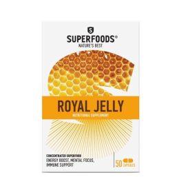 Superfoods Bio-Βασιλικός Πολτός Eubias™, 50caps