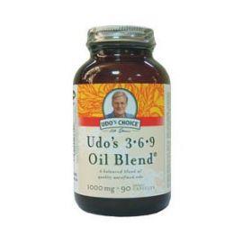 FLORA Udo's 3-6-9 Oil Blend - 90 κάψουλες