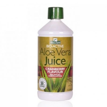 OPTIMA ALOE VERA JUICE cranberry 1lt