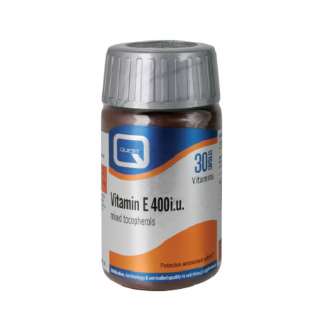 QUEST E 400iu Mixed tocopherols 30 caps