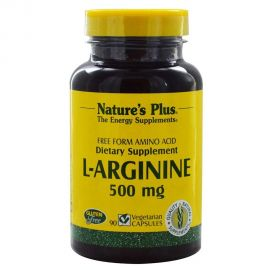 NATURE'S PLUS L-ARGININE 500mg 90 Vcaps