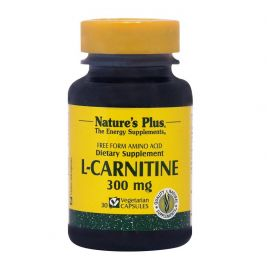 NATURE'S PLUS L-CARNITINE 300mg 30 Vcaps