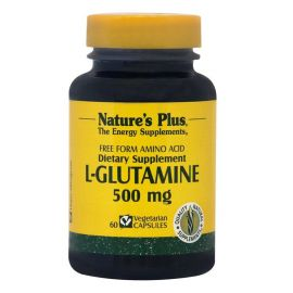 NATURE'S PLUS L-GLUTAMINE 500mg 60 Vcaps
