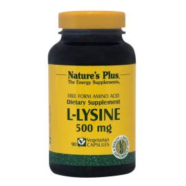 NATURE'S PLUS L-LYSINE 500mg 90 Vcaps