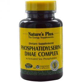 NATURE'S PLUS PHOSPHATIDYLSERINE/DMAE COMPLEX 60 Vcaps