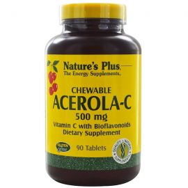 Nature's Plus Acerola-C Complex 500 mg 90 tabs