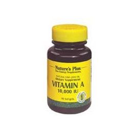Nature's Plus Vitamin A 10.000 I.U. 90 caps