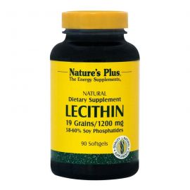 Nature's Plus Lecithin 1200mg 90 caps