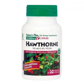 Nature's Plus Hawthorne 150mg 60 Vcaps