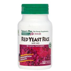 Nature's Plus Red Yeast Rice 60 Vcaps 600mg
