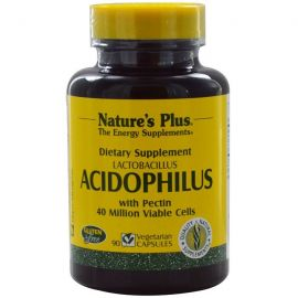 Nature's Plus Acidophilus 90 Vcaps