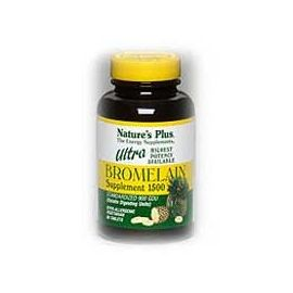 Nature's Plus Ultra Bromelain 60 tabs