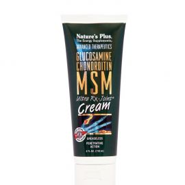 Nature's Plus Glucosamine-Chondroitin-MSM Rx-Joint Cream 118ml