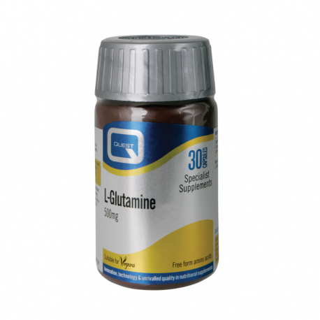 Quest L-glutamine 500mg 30 caps