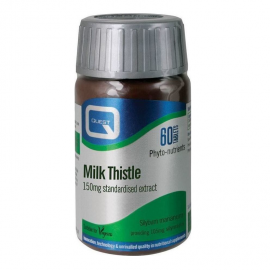 QUEST MILK THISTLE extract 150mg 60 tabs