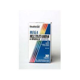 HEALTH AID MEGA Πολυβιταμίνες-Κίτρο