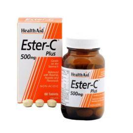 HEALTH AID ΕSTER C Tαμπλέτες 500mg με κιτρικά βιοφλανοειδή, ασερ