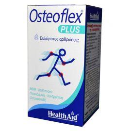HEALTH AID OSTEOFLEX PLUS 60 tabs Γλυκοζαμίνη-Χονδροϊτίνη-MSM-Κο