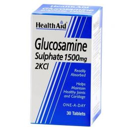 HEALTH AID GLUCOSAMINE Γλυκοζαμίνη 1500mg βραδείας αποδέσμευσης