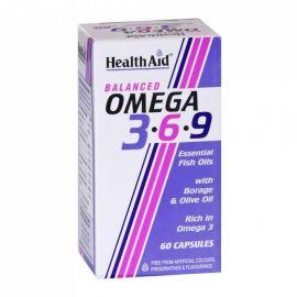 HEALTH AID ΩΜΕΓΑ 3 750 mg ΥΨΗΛΗΣ ΔΡΑΣΤΙΚΟΤΗΤΑΣ EPA/DHA 60 caps
