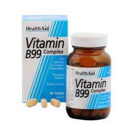 HEALTH AID B99 ΥΠΕΡ ΕΝΙΣΧΥΜΕΝΟΣ ΣΥΝΔΥΑΣΜΟΣ ΒΙΤΑΜΙΝΩΝ 60 vetabs