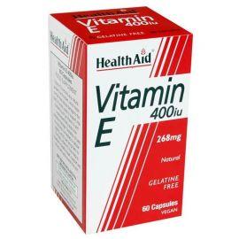 HEALTH AID ΒΙΤΑΜΙΝΗ Ε 400 I.U. - 268mg 30 vecaps