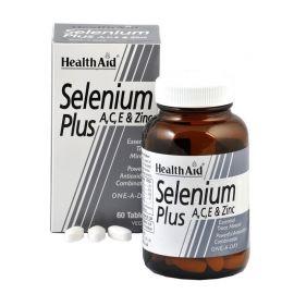 HEALTH AID ΕΝΙΣΧΥΜΕΝΟ ΣΕΛΗΝΙΟ 200 mg, 60 vetabs
