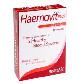 HEALTH AID HAEMOVIT PLUS κάψουλες για υγιές κυκλοφορικό σύστημα