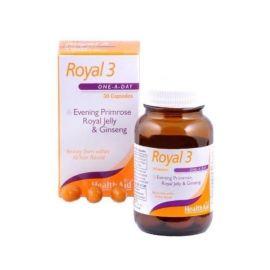 HEALTH AID Royal +3 Βασιλικός πολτός 150 mg Έλαιο νυχτολούλουδο
