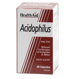 HEALTH AID ACIDOPHILUS (+BIFIDUS) 100 million 60 vecaps
