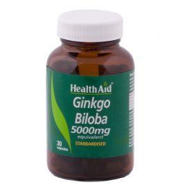 HEALTH AID GINKGO BILOBA 5000 mg 30 caps