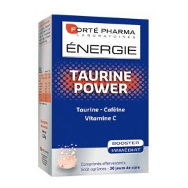 FORTE PHARMA ENERGY TAURINE POWER, 30 eff. caps