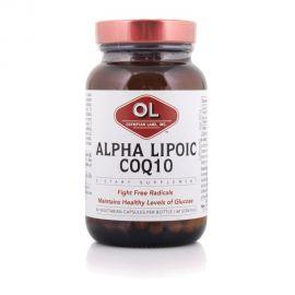 Olympian Labs ALPHA LIPOIC ACID + CoQ10 Ενδοκυτταρική Αναγέννηση