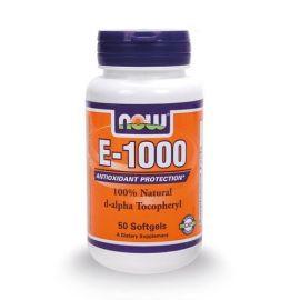 Nowfoods E1000 IU 50 Μαλακές Κάψουλες Βιταμίνη Ε