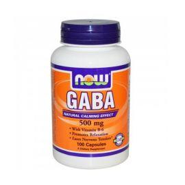 Nowfoods GABA 500mg Ανακούφιση από νευρική υπερένταση 100 VCAPS