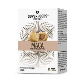 Superfoods Maca Eubias 50 κάψουλες
