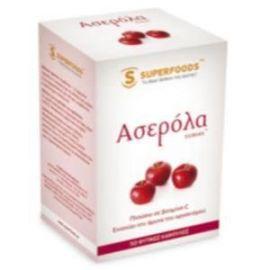 Superfoods Ασερόλα (Acerola) Eubias™, 50caps
