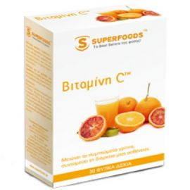 Superfoods BITAMINH C EUBIAS, 30 ΔΙΣΚΙΑ