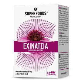 Superfoods Echinacea (ΕΧΙΝΑΤΣΙΑ) EUBIAS, 50caps