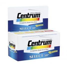 Centrum Select 50+ 30 Δισκία, με Λουτείνη