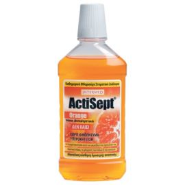 Intermed Actisept Στοματικό Διάλυμα Mouthwash, 500ml, Orange