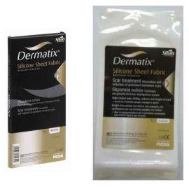 Dermatix Φύλλα Σιλικόνης Υφασμάτινη Γάζα, 13cmX13cm