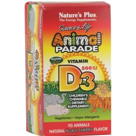 Nature's Plus Animal Parade Vitamin D3 90 tabs