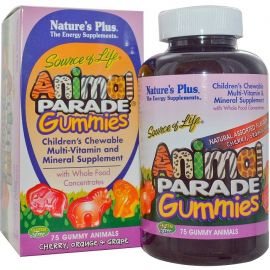 Nature's Plus Animal Parade Gummies 50 gum