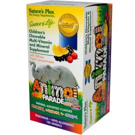 Nature's Plus Animal Parade Assorted 90 tabs