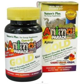 Nature's Plus Animal Parade Gold Assorted 60 tabs
