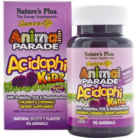 Nature's Plus Animal Parade Acidophikidz 90 tabs