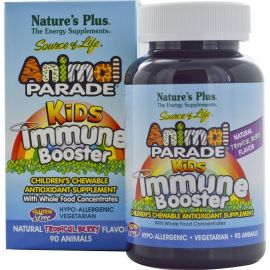 Nature's Plus Animal Parade Kids Immune Booster 90 tabs