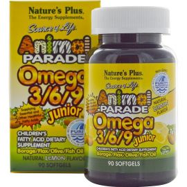 Nature's Plus Animal Parade Omega 3/6/9 Junior 90 caps