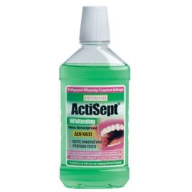 Intermed Actisept Στοματικό Διάλυμα Mouthwash 500 ml Whitening